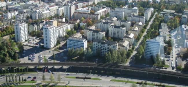 Viena, neužmirštama para Tamperėje, Suomijoje