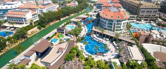 Turkija! Kokybiškas poilsis SUNIS EVREN 5* viešbutyje su UAI maitinimu: 7 n. tik nuo 641 €/asm.