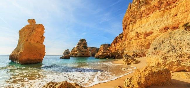 Portugalija. Algarvė – rojus, skalaujamas Atlanto vandenyno