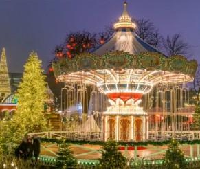 Kalėdos Danijoje: Šv. Liucijos šventė, legendiniai Tivoli sodai
