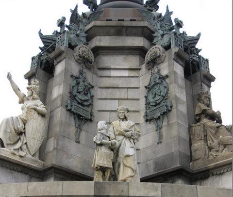 Kristupo Kolumbo paminklas Barselonoje
