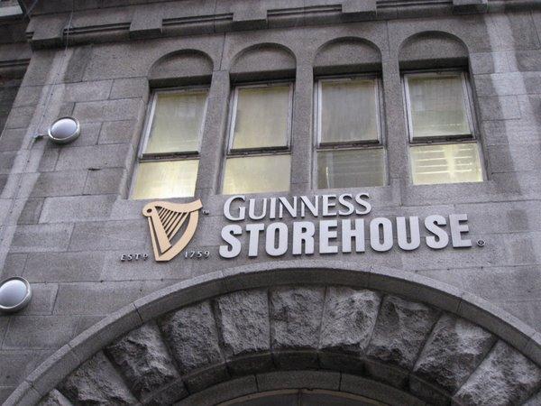 Guinness alaus gamykla