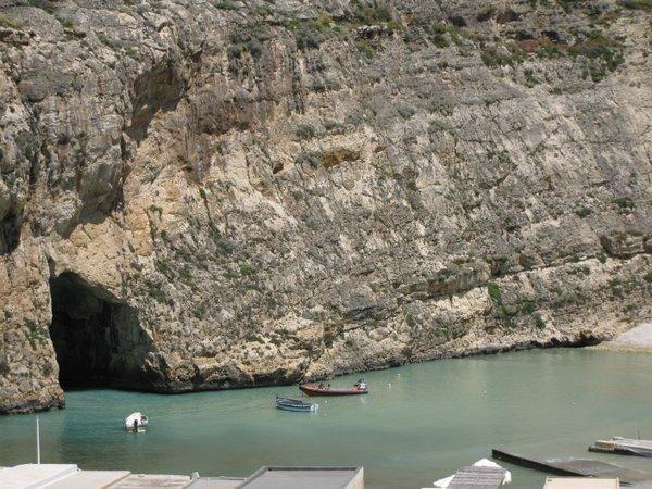 Vidinė jūra Gozo saloje Malta