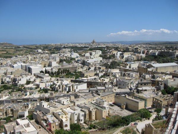 Gozo sala Viktorijos miestas