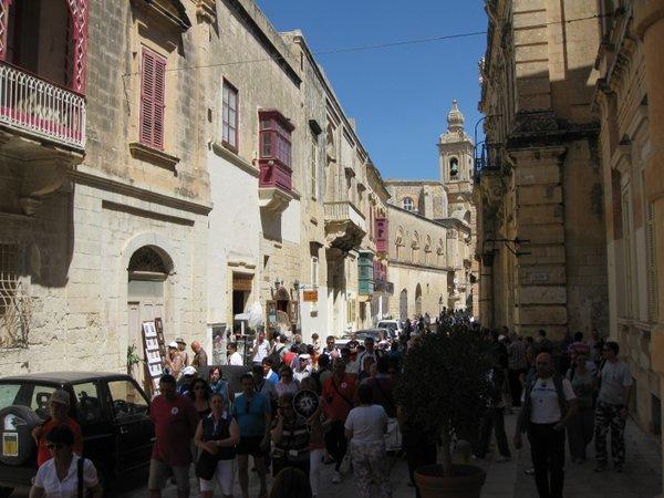 Mdinos miestas Maltoje
