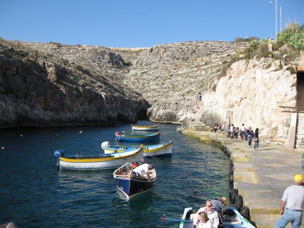Malta Žydroji grota