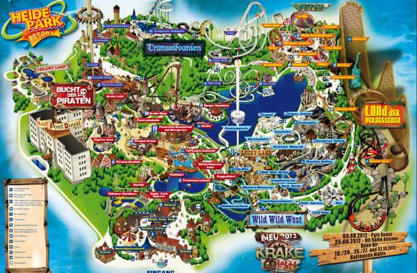 Vokietijos atrakcionų parkas Heidės parkas