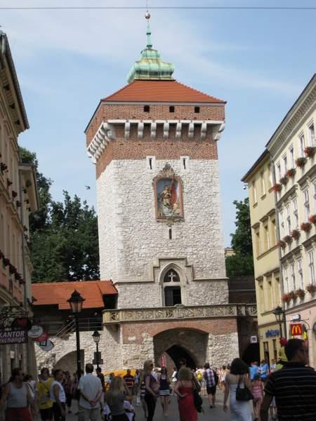 Krokuvos Florijono vartai