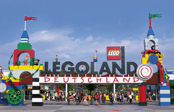 Vokietijos atrakcionų parkas Legolendas