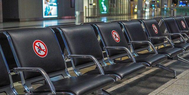saugumo priemonės oro uostuose