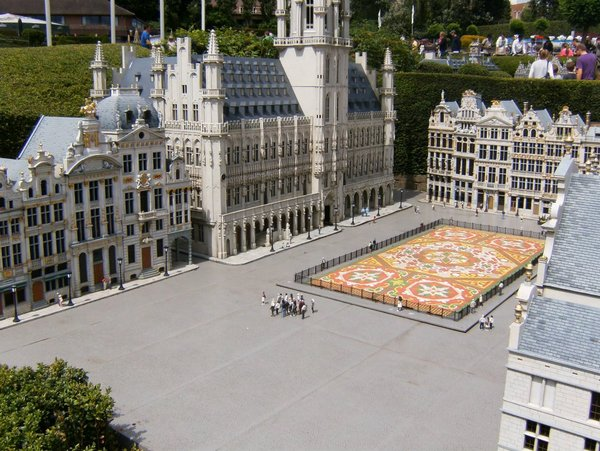 Mini Europos parkas Briuselyje