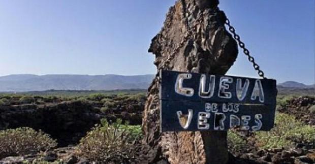 Lansarotė. Žaliasis urvas (Cueva de los Verdes)