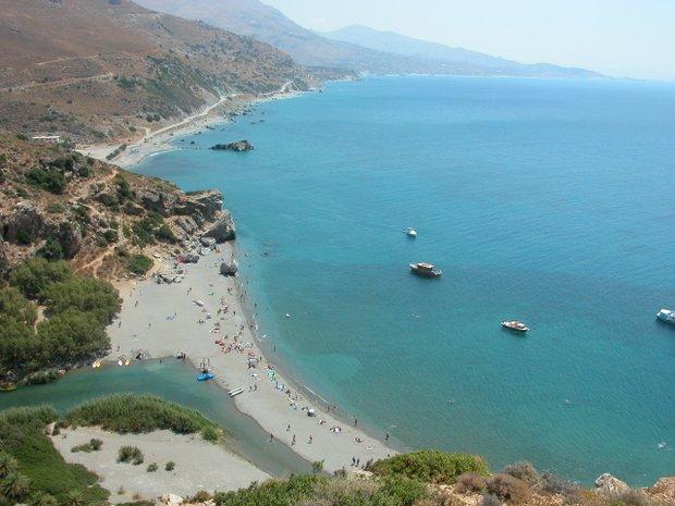 Preveli paplūdimys Kretoje