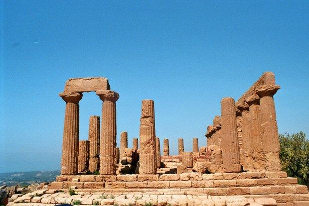 Sicilijos Agrigento šventyklos