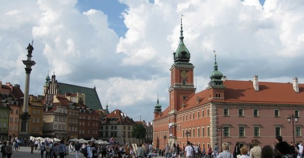 Lankytinos vietos Varšuvoje