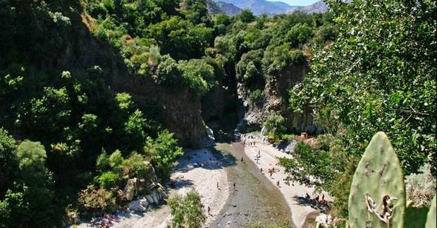 Alkantaros tarpeklis - magiška vieta Sicilijoje