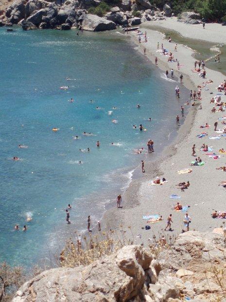 Vai paplūdimys Kretoje
