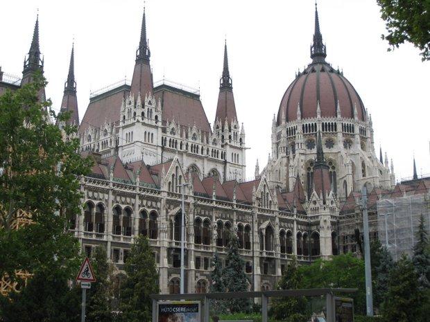 Vengrijos parlamentas Budapešte