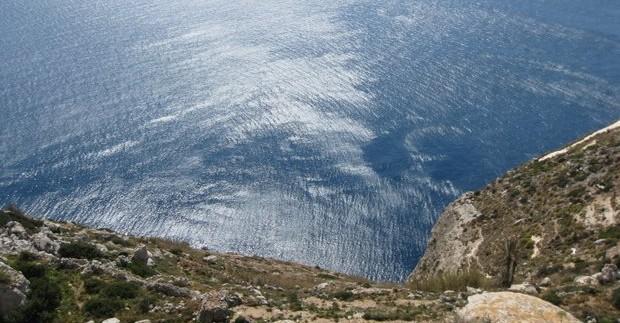 Maltos sala. Dingli uolos