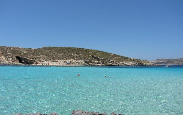 Mėlynoji lagūna - žydras rojaus kampelis Maltoje