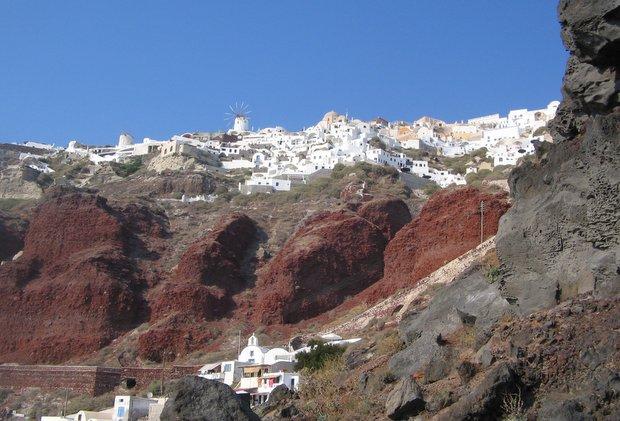 Santorinio sala Graikija