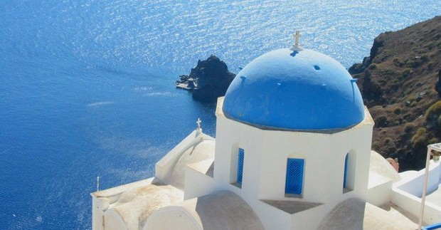 Kelionė į Santorini salą
