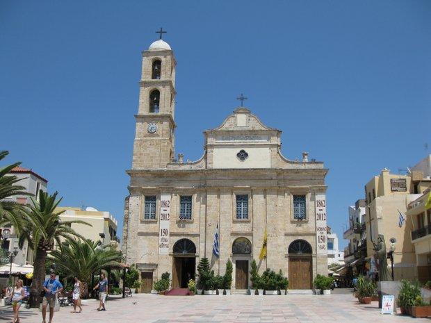Kreta Chanija Trimartyri bažnyčia