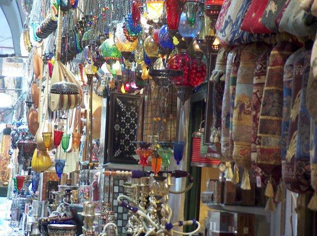 Stambulas Grand Bazaar turgus