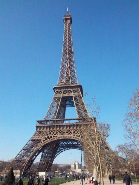 Paryžius Eifelio bokštas