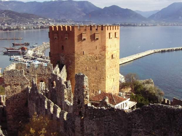 Alanijos pilis Turkija
