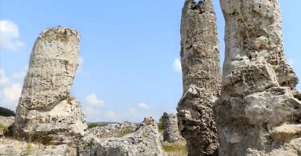 Bulgarija. Pobiti Kamani - įspūdingas akmenų miškas šalia Varnos