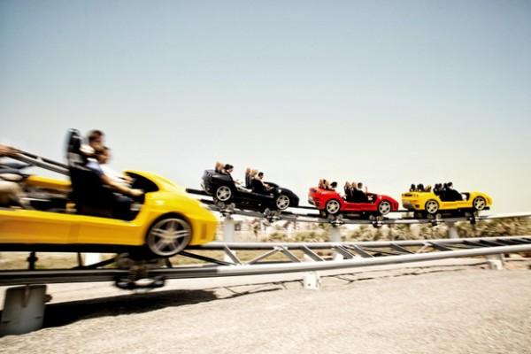 Abu Dabio Ferrari World atrakcionų parkas