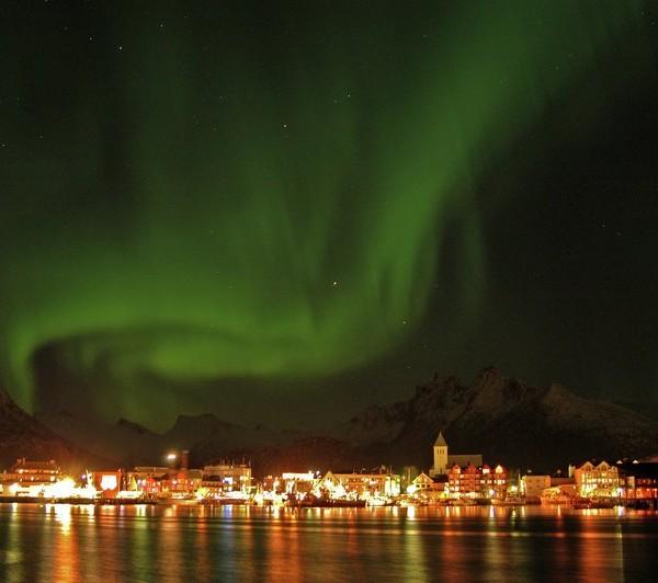 Lankytinos vietos Norvegijoje: kur nuvykti su vaikais? Northern Lights
