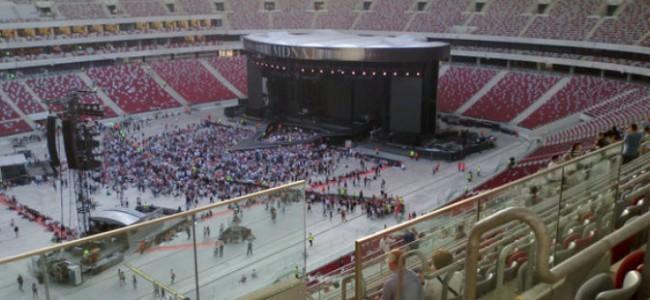 Kelionė į Madonnos MDNA turo koncertą Varšuvoje