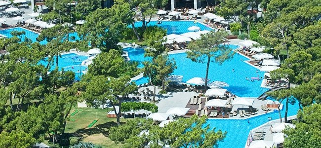 VIP POILSIS TURKIJOJE! Tik nuo 757 € už 7 n. poilsį prabangiame RIXOS SUNGATE 5*