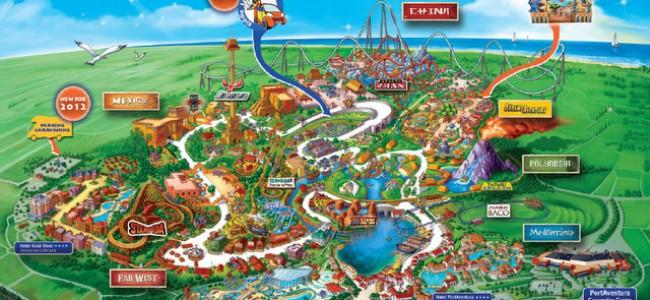 Nuotykių pasaulis šalia Barselonos – Port Aventura atrakcionų parkas
