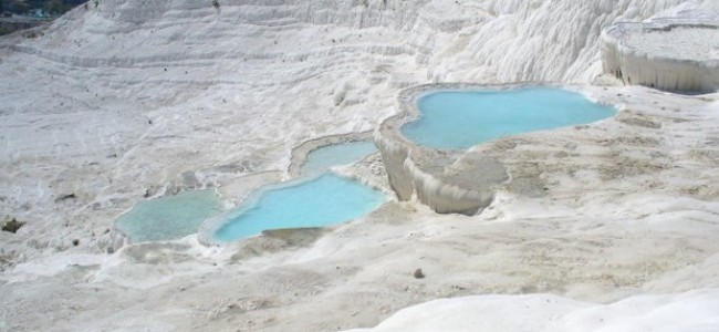 Pamukalė – gamtos stebuklas Turkijoje