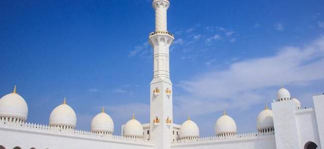 Jungtiniai Arabų Emyratai: Abu Dabio įžymybė – Šeicho Zaido Didžioji mečetė