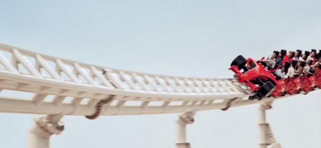 Ekstremalių pojūčių mėgėjams – Abu Dabio Ferrari World atrakcionų parkas
