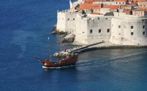 Dubrovniko simbolis – gynybinė miesto siena