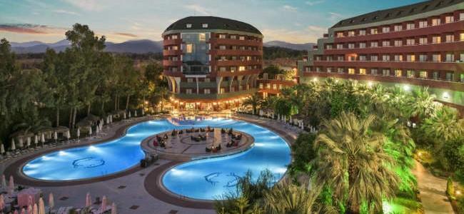 Tik nuo 585 €/asm. už 7 n. kelionę į Turkijos DELPHIN DELUXE 5* viešbutį su UAI maitinimu