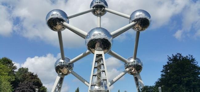 Atomiumas Briuselyje – ne tik Briuselio, bet ir visos Belgijos simbolis