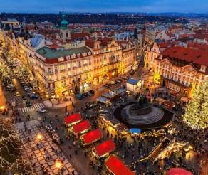 TOP Kalėdinės kelionės autobusu: Ryga, Praha ir Talinas