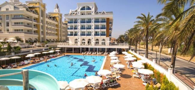 7 n. Turkijos Palm World 5* viešbutyje su viskas įskaičiuota tik nuo 383 €/asm.