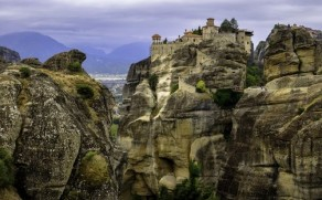 Meteorų vienuolynai – viena lankomiausių Graikijos vietų