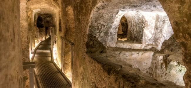Maltos įdomybės. Šv. Pauliaus katakombos
