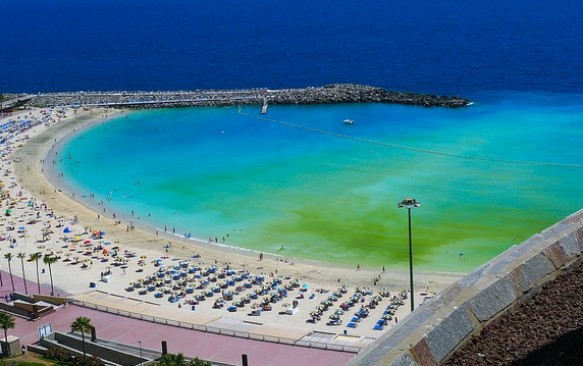 Geriausi Gran Kanarijos paplūdimiai
