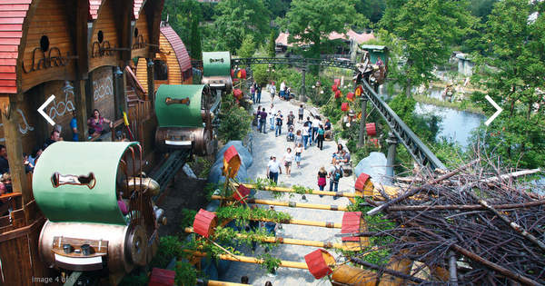Vokietijos atrakcionų parkas Fantazijų šalis