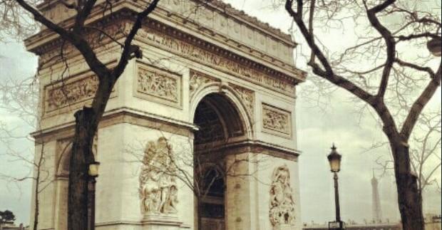 Įspūdžiai. Pirmoji diena Paryžiuje: kelionė ir lankomiausi objektai