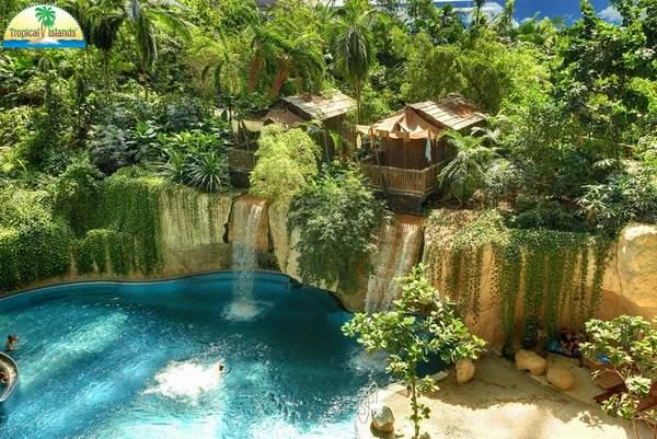 Tropikų sala Vokietijos atrakcionų parkas